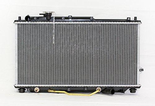 Radiator - Pacific Best Inc For/Fit 2269 98-01 Kia Sephia 00-03 Spectra Automatic Plastic Tank Aluminum Core 25mm 1-Row