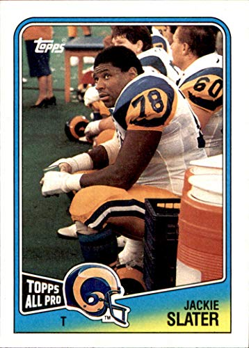 1988 Topps #295 Jackie Slater LOS ANGELES RAMS ALL-PRO JACKSON STATE ()