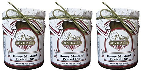 - Honey Mustard Pretzel Dip, 10 Oz (Pack of 3) LOW FAT