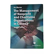 The Management of Nonprofit and Charitable Organizations in Canada