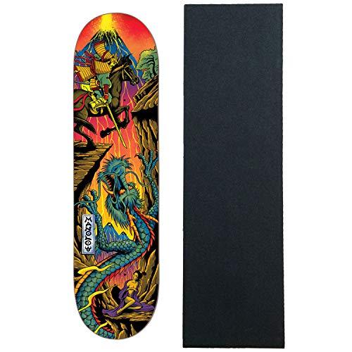 "Darkstar Skateboard Deck Blacklight Robles 8.0"" with Grip"