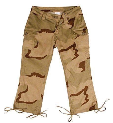 Women's Tri-Color Capri Pants