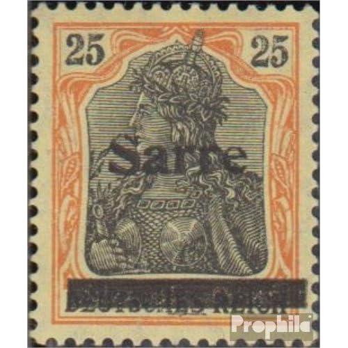 Sarre 9b III testés 1920 allemagne (Timbres pour les collectionneurs)