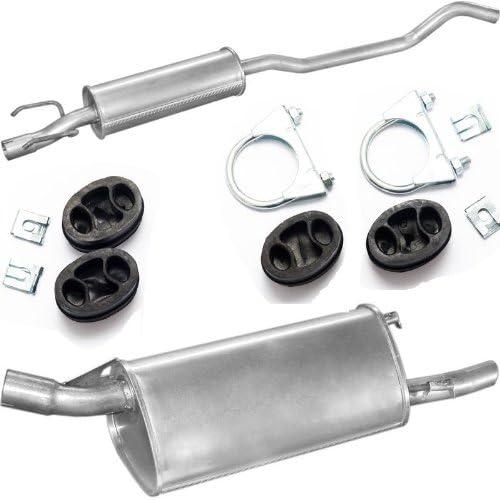 Auspuff Endschalldämpfer Opel Corsa B 1.0 12V kat 96