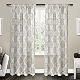 Best Exclusive Home Curtains Home Blackout Curtains 1 Panels - Exclusive Home Curtains Nagano Sheer Rod Pocket Window Review