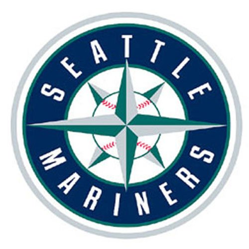 Fathead MLB Seattle Mariners Seattle Mariners: Logo - Giant Officially Licensed MLB Removable Wall ()
