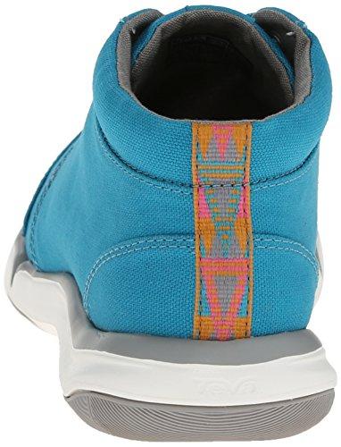 Mid Wander Canvas Women's Shoe Blue top Teva Lake qPnUSw