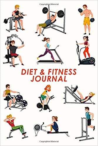 Diet Fitness Journal Reach Your Fitness Goals Fit Body Strength Food Tracker Exercise Planner For Male Female Woman Man Space For Notes Funny Gym Cover Books Wellness 9781673539257 Amazon Com