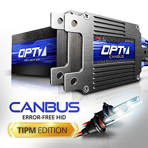 OPT7 Boltzen AC 35w CanBUS 9005 HID Kit - All Bulb Sizes and Colors - TIPM Resistor Bundle - 2 Yr Warranty [5000K Bright White Xenon Light]
