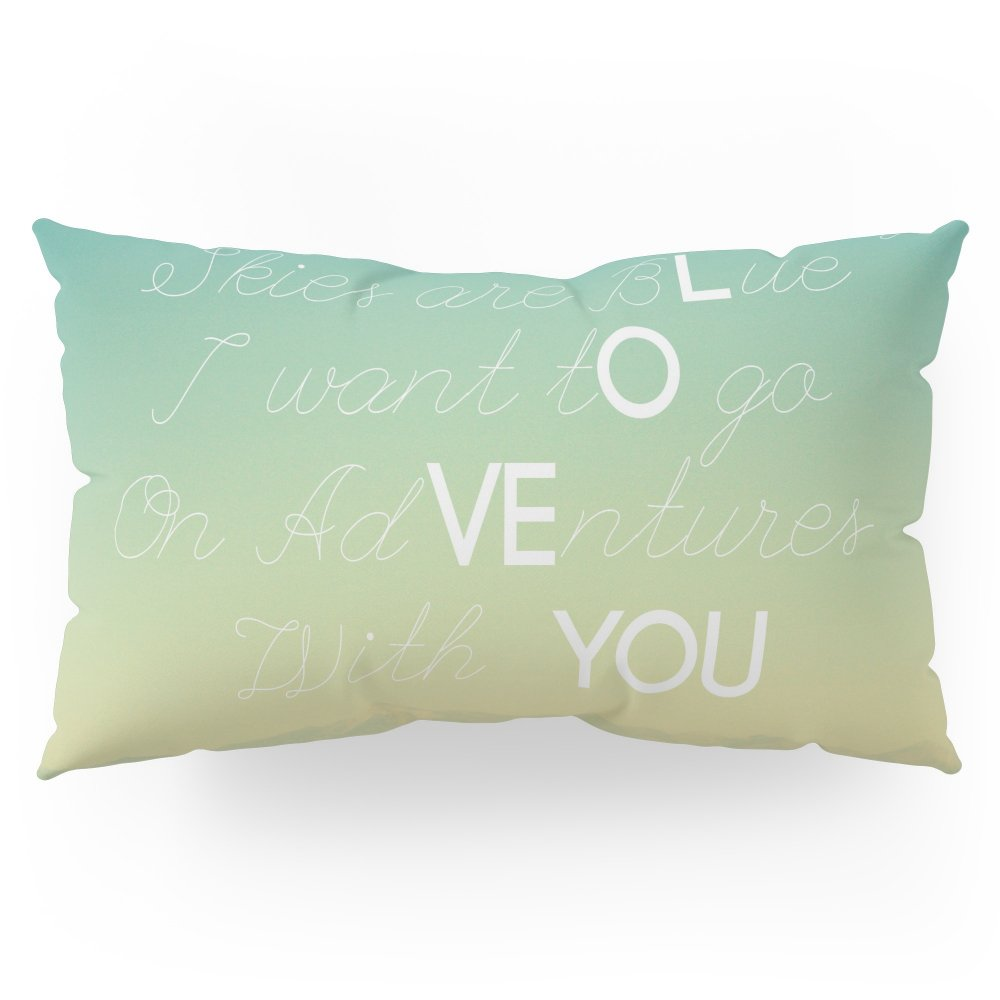 Society6 Adventures And I Love You Pillow Sham King (20'' x 36'') Set of 2