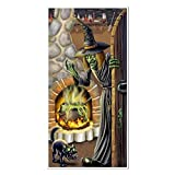 Halloween Witchs Brew Door Cover 30in. X 5ft. Party Accessory Pkg/3
