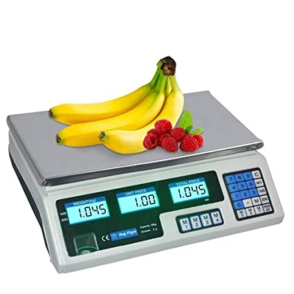 Báscula digital Hug Vuelo® 40 kg Digital Precio de Informática escala electrónica de pesaje de
