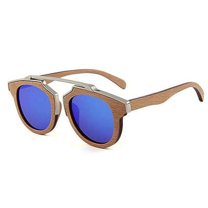 Gafas de moda Gafas de sol polarizadas de madera hechas a ...