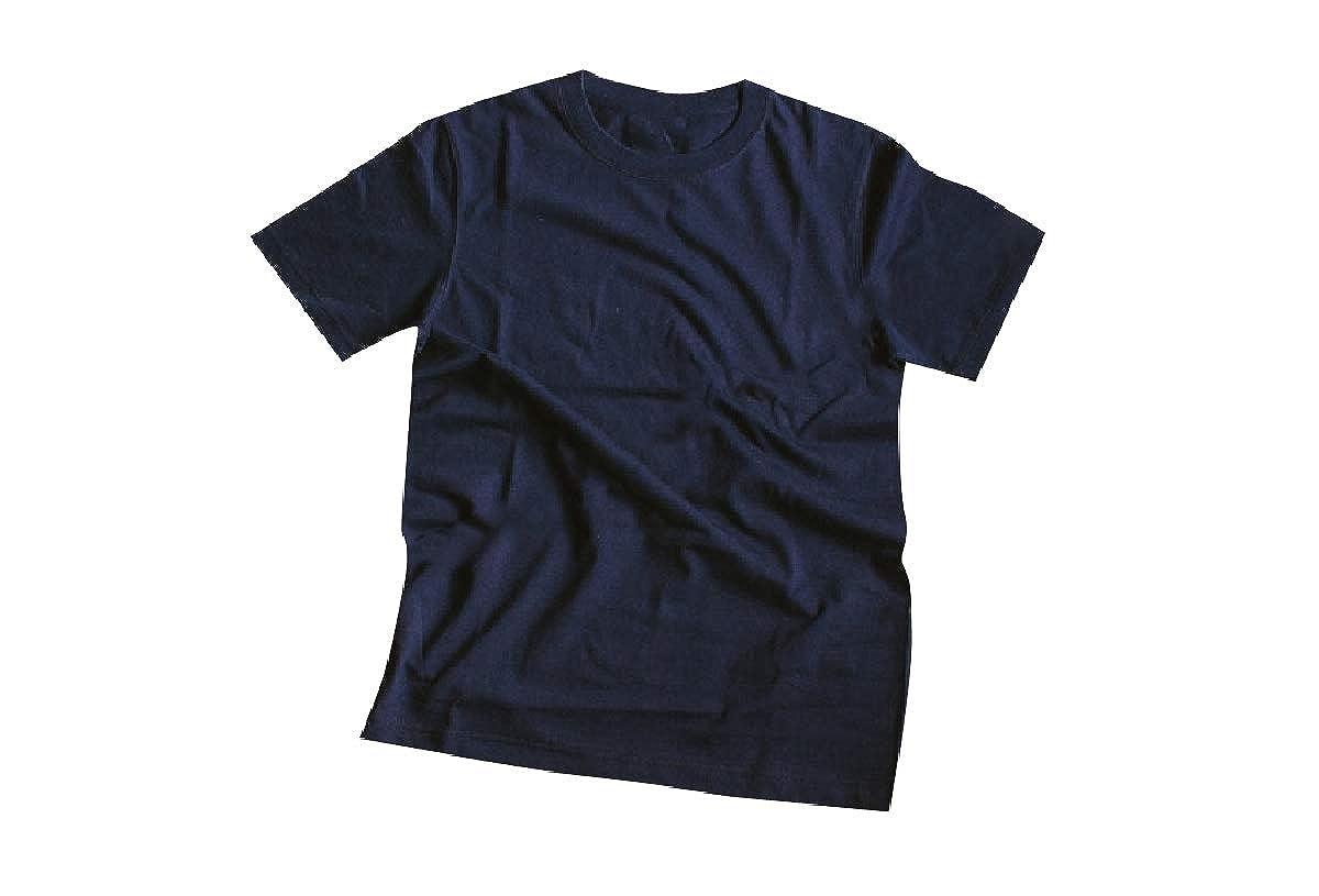 CuteRose Mens Short Sleeve Heavyweight Crew Neck 4 Pack T-Shirt Top Tees
