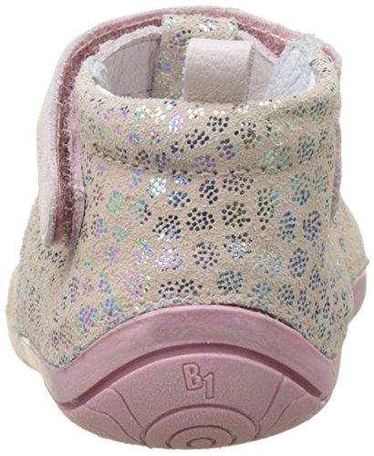 Babybotte Zik - Patucos de Otra Piel Bebé-Niños, rosa ( Rose (Pois Rose)