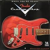 Fender® Custom Shop Guitar 2014 Wall (calendar)