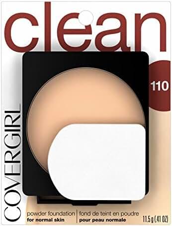 COVERGIRL Clean Powder Foundation Classic Ivory 110, .41 oz