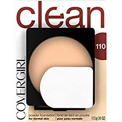 COVERGIRL Clean Powder Foundation Classic Ivory 110, .41 oz