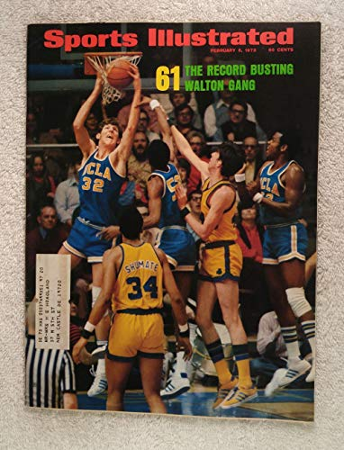 Bill Walton - UCLA Bruins - Record Breaking 61 Wins in a Row - Sports Illustrated - February 5, 1973 - College Basketball - SI -