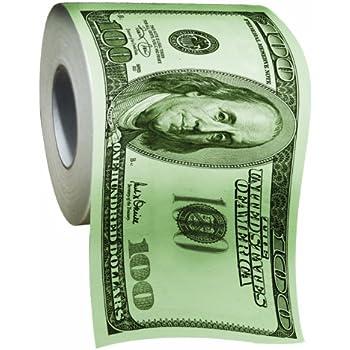 Amazoncom BigMouth Inc 100 Dollar Money Funny Toilet