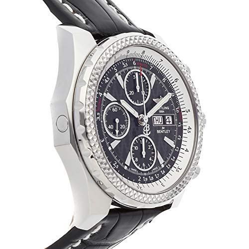 Breitling Bentley Gt Wristwatches: BREITLING BENTLEY GT STAINLESS STEEL AUTOMATIC WRISTWATCH