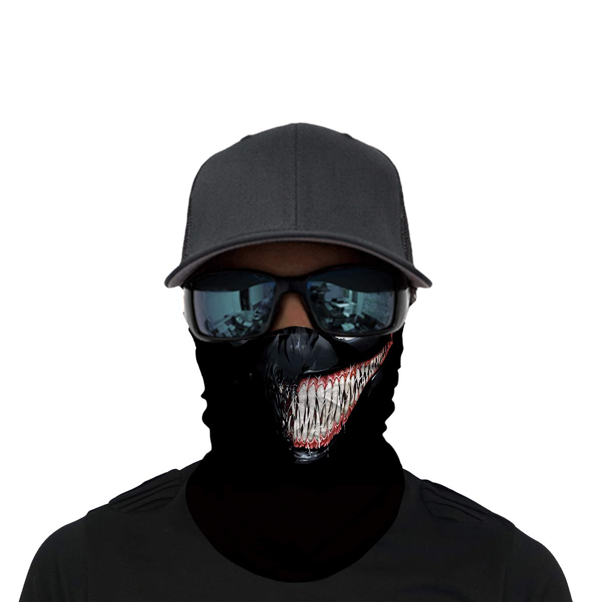 OUYZY Neck Gaiter Fishing Headband for Cycling Bandana Skateboarding Face Sun Mask Headwear Motorcycling Moisture Wicking UV Protection Running Magic Scarf Balaclava