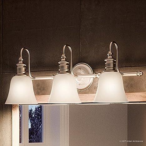 bdc2dbe535 Luxury English Country Bathroom Vanity Light