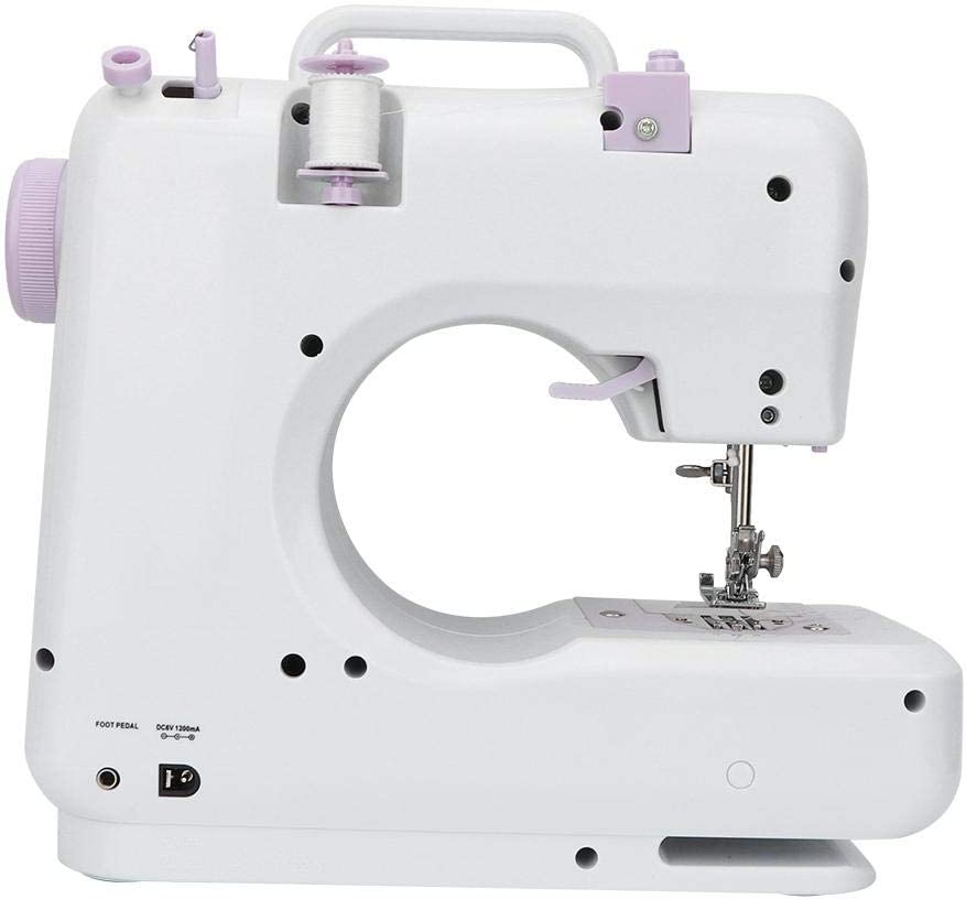 US Household Hand-held Tailor Electric Sewing Machine with 12 Floral Stitches Electric Sewing Machine