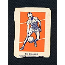 1952 Wheaties Jim Pollard Lakers Action VG 285989 Kit Young Cards