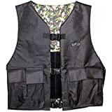 Trinity Paintball & Airsoft Chest Protector Black camo