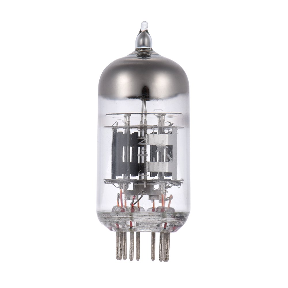 ammoon 6N4 12AX7 Preamp Electron Vacuum Tube 9-pin Dual Triode for ECC83 7025 5751 Tube Replacement DKN2808149194526WZ