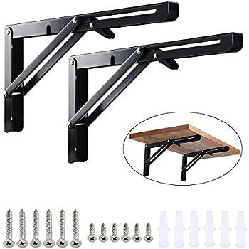 Amazon Com Manyee 2 Pack 11 8 Inch Length Black Folding