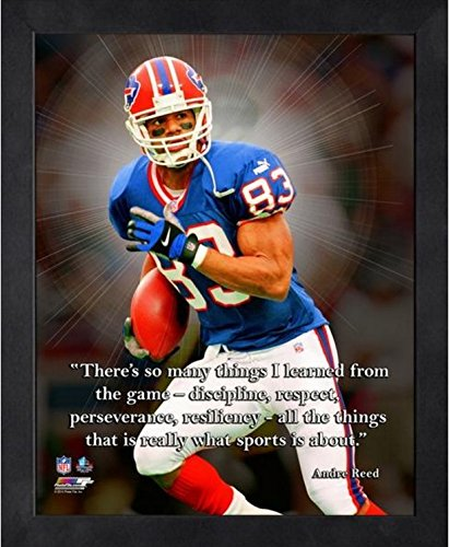 Andre Reed Buffalo Bills Pro Quotes Photo (Size: 9