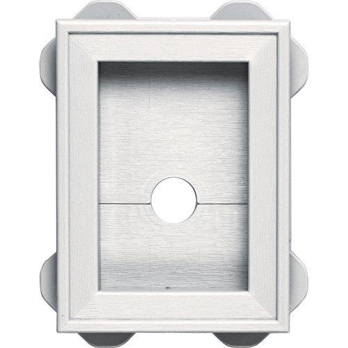 Wrap Shutter (Builders Edge 130130003117 Wrap Around Utility Block 117, Bright White)