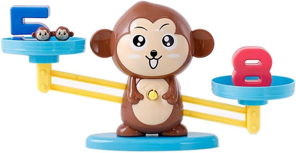 PETSOLA Juguete De La para El Juego De Mesa De Forma De Mono De Enseñanza Temprana De Resta De Suma Matemática: Amazon.es: Juguetes y juegos