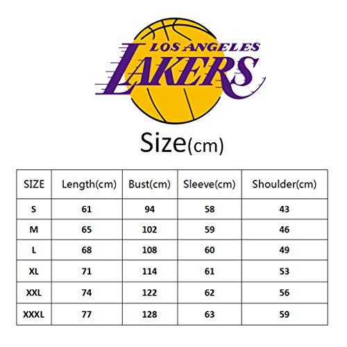 Sudaderas Capucha Hombres Moda Baloncesto Con Jóvenes 23 a Sudadera Deportes Number James L Black2 Name amp; Lakers n0qwZYW4