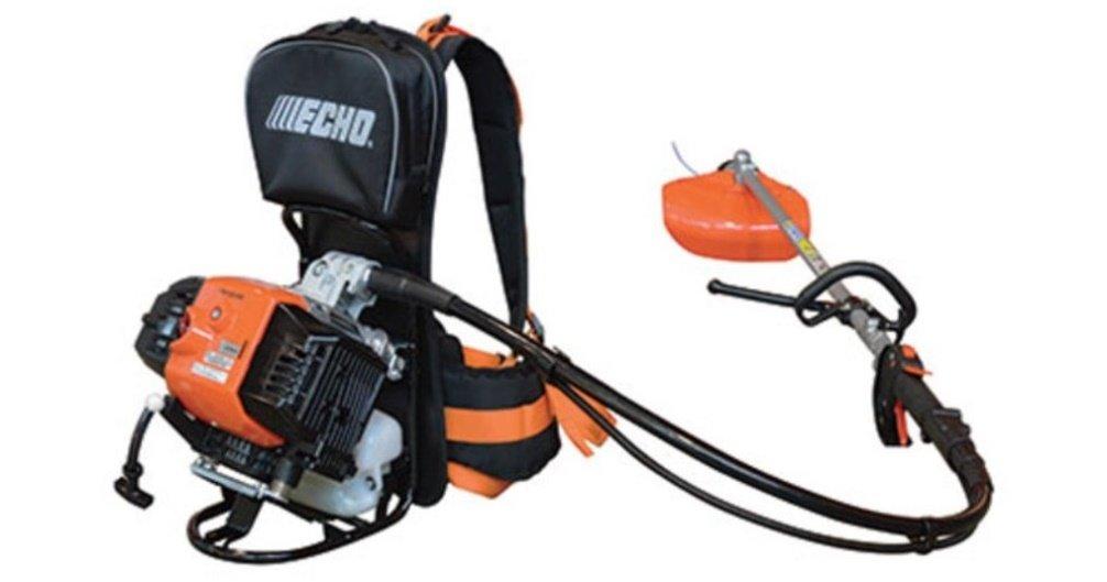 Desbrozadora de mochila Echo RM 520ES.La más potente de la ...