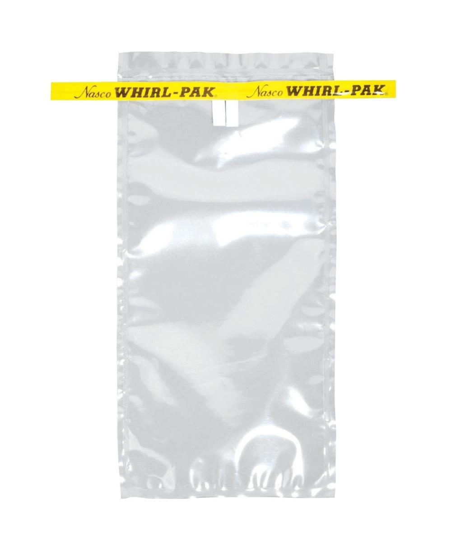 "Midland Scientific B00736WA PK Whirl-Pak Sample Bag, 18 oz, 12.75"" Height, 12"" Width, 12.75"" Length, 532 mL (Pack of 500)"