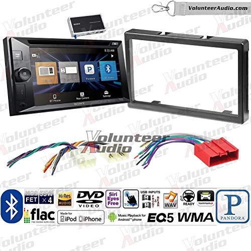 - Sony XAV-W651BTN Double Din Radio Install Kit With Navigation, USB/AUX, CD/DVD Player Fits 2001-2006 Mazda Tribute