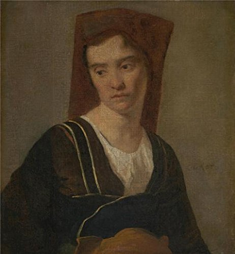 Costume Walking Dance On Sunshine (Oil Painting 'Follower Of Jean-Baptiste-Camille Corot - A Peasant Woman,after 1860' Printing On Perfect Effect Canvas , 18x19 Inch / 46x49 Cm ,the Best Game Room Decoration And Home Gallery)