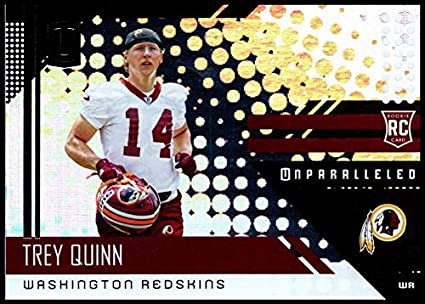 best sneakers ed62d 6e38e Amazon.com: 2018#246 Trey Quinn NM-MT RC Redskins ...