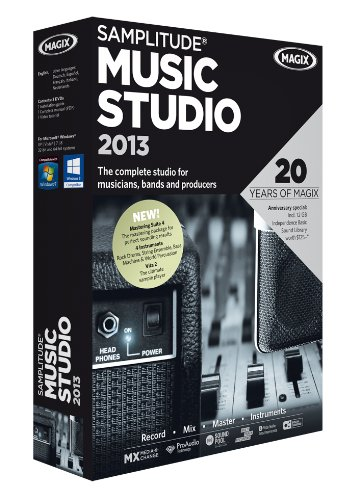 (Samplitude Music Studio 2013)