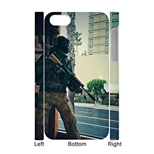 WJHSSB Diy hard Case Call Of Duty customized 3D case For Iphone 4/4s