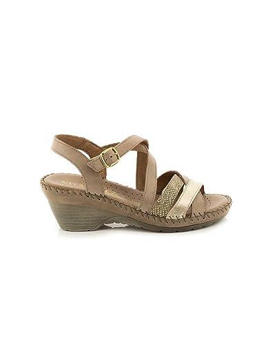 VITA UNICA Sandale Vita Haut Unica Beig