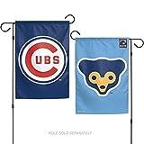 Stockdale Chicago Cubs Retro WC Garden Flag Premium 2-Sided Outdoor House Banner Baseball
