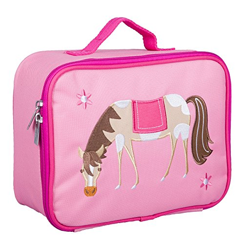 Wildkin Embroidered Lunch Box, Horses ()