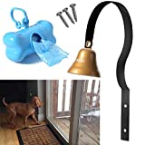 Dog Bell - STYDDI Potty Training Bell Doorbell for Housebreaking and Housetraining (Black)