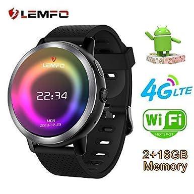 LEMFO LEM8 - Reloj Inteligente Android 7.1.1 4G, 2 MP, cámara de