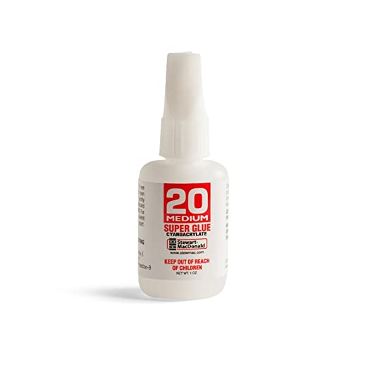 Amazon.com: stewmac Super Glue, # 20 medio, 1 oz ...