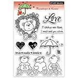 rain stamp - Penny Black 30-088 Raindrops and Kisses Clear Stamp